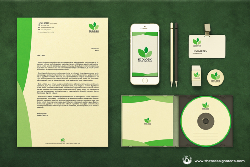 Green & Ecological Corporate Identity Template