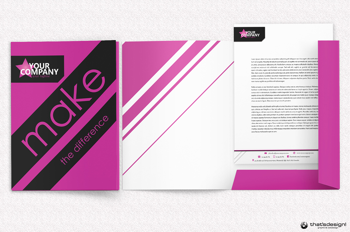 Event & Artistic Corporate Identity Template