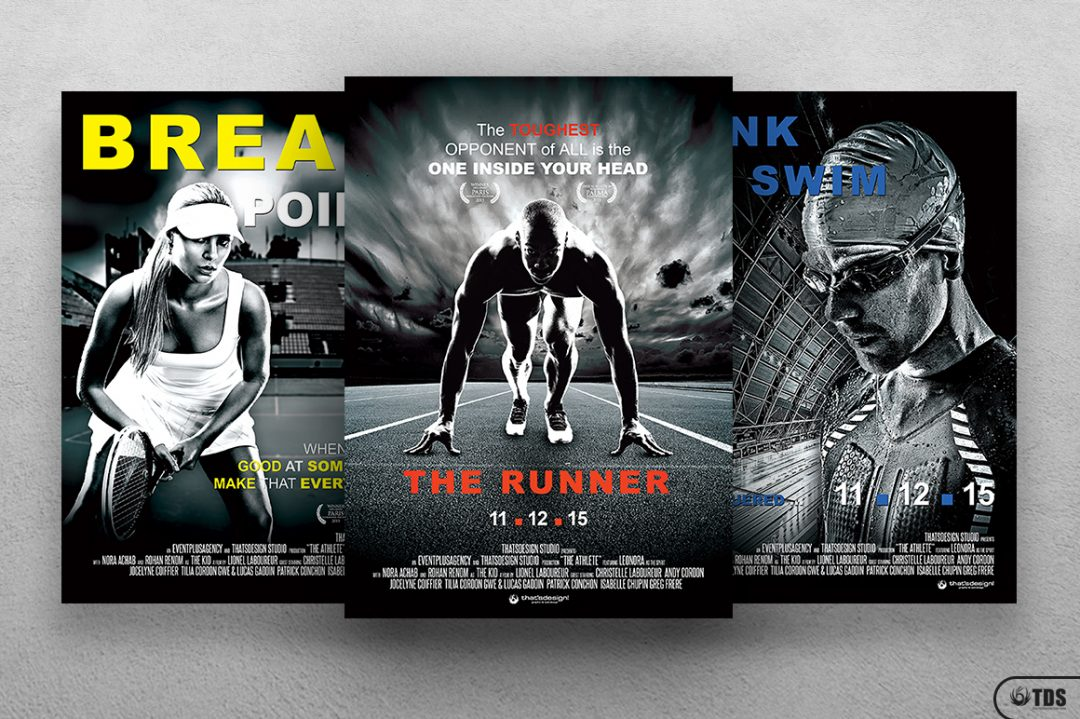 Free Sport flyers for Movie Bundle