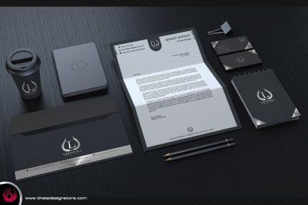 Black & Classy Corporate Identity Template 2