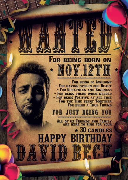 Birthday Party Flyer Template western psd design,Wanted flyers farwest Western music template, rodeo bike cowboy in a coyote bar