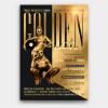 Golden Affair Flyer Template