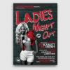 Ladies Night Flyer Template psd design download V7