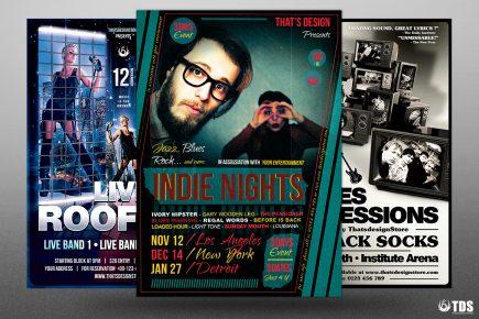 Concert Live Flyer Bundle V2