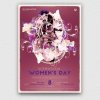 Women's Day Flyer Template,Psd download to customize