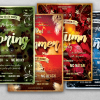 FLYERS PSD - Four Seasons Flyer Templates