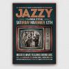 Jazz Festival Flyer Template V6, posters psd