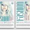 Download Fashion Show Flyer Template PSD V2, top model catwalk or a fashion week