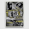 Freestyle Rap Battle Flyer V2, Hip hop psd flyers