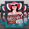 Secret Party Flyer Template