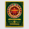 Casino Flyer Template PSD for photoshop V2