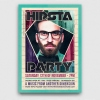 Hipsta Night Flyer Poster Template PSD for Photoshop