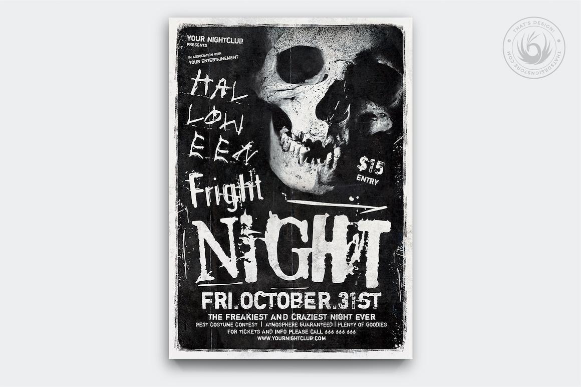 Halloween Flyer Template V12
