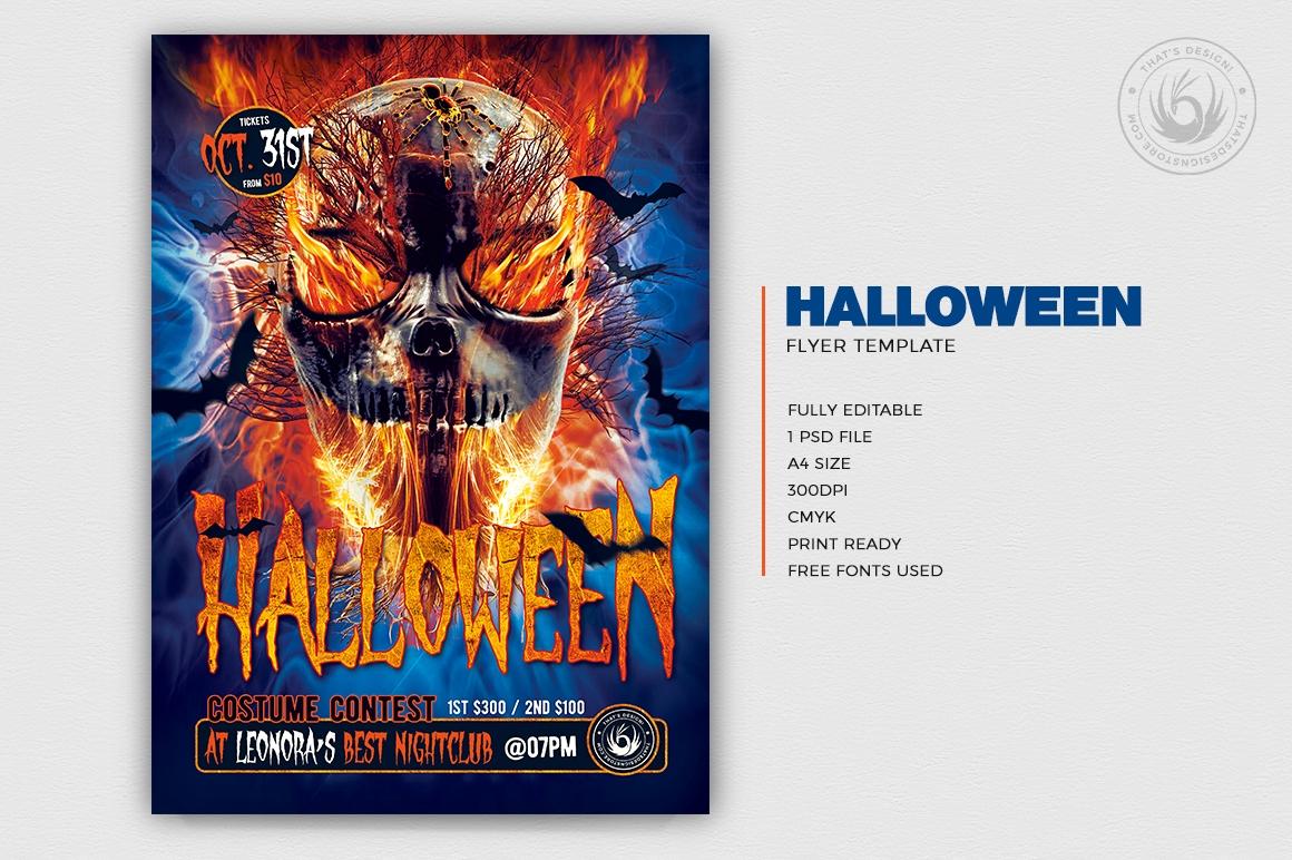 Halloween Flyer Template V15