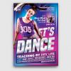 Dance Classes Flyer Template