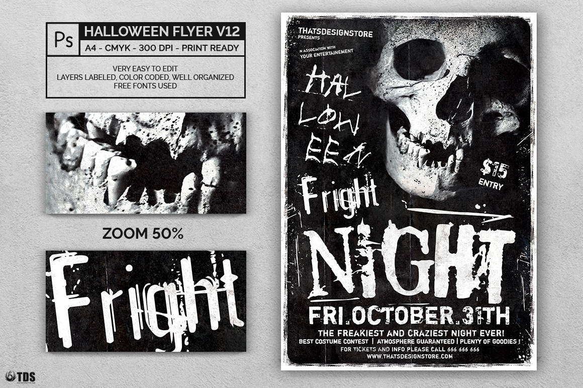 Halloween Flyer Template V12