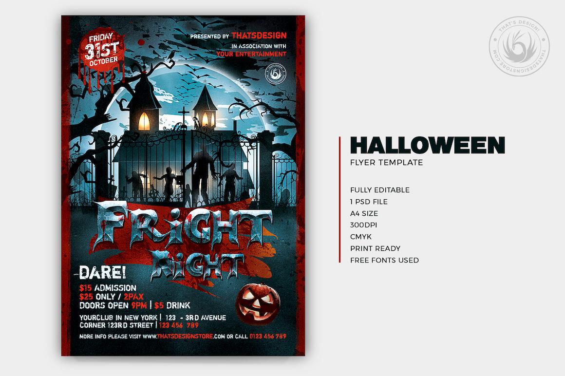 Halloween Flyer Template V17