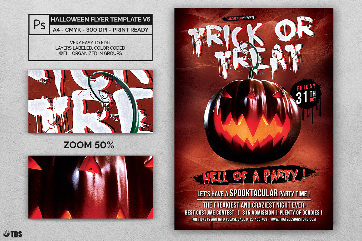 Halloween Flyer Template V6