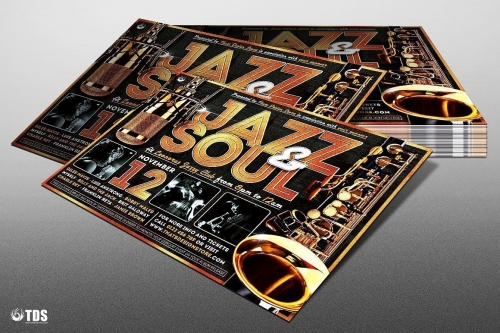 Jazz and Soul Flyer Template
