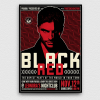 Black & Red Flyer Template V3, Party Club Flyers Posters, Psd design