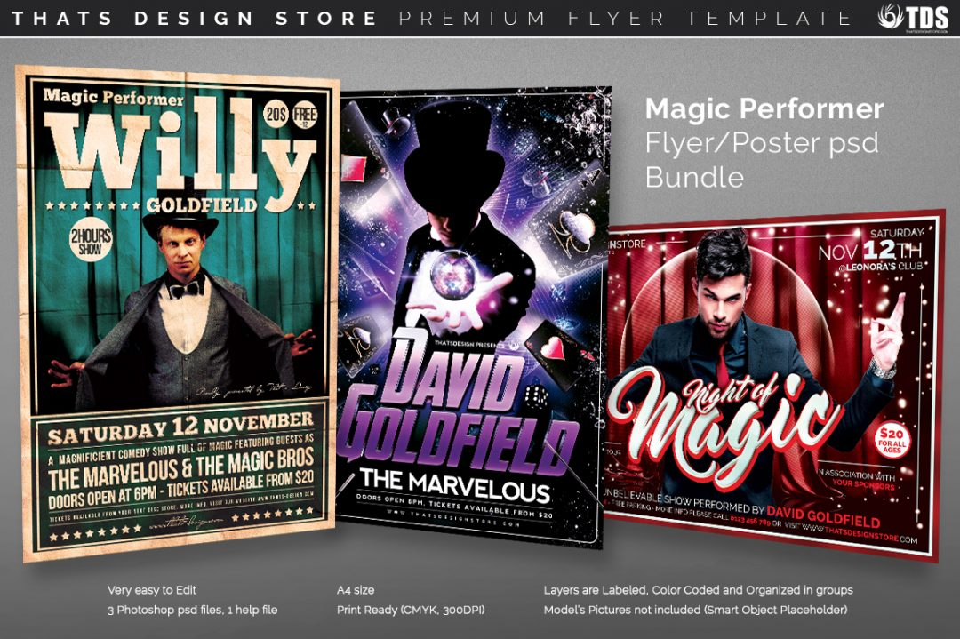 Magic Flyer Templates