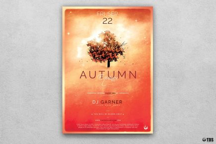 Autumn Equinox Flyer Template V3