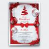 Christmas Invitation Template psd V4