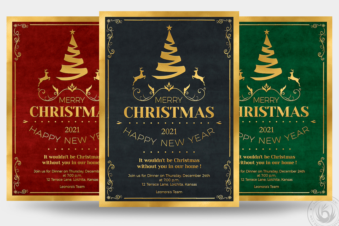 CHRISTMAS INVITATION TEMPLATE V1