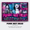 Punk Not Dead Flyer Template