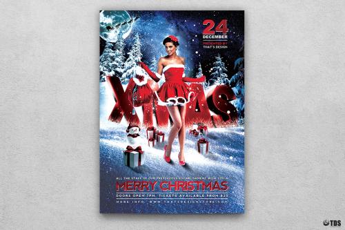 Christmas Bash Flyer Template V2