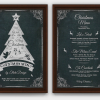 Christmas Eve Flyer Menu Template PSD Download V5