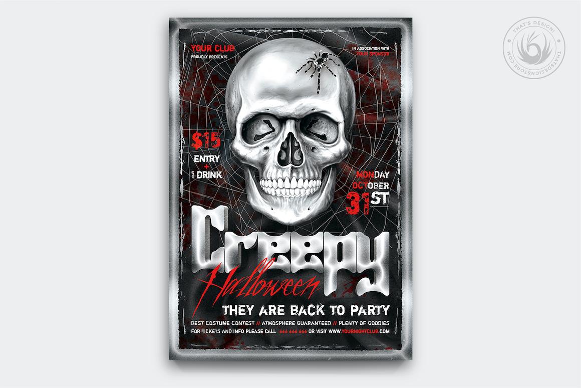 Halloween Flyer Template V21