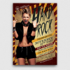 Hard Rock Underground Flyer Template Psd design download