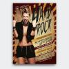 Hard Rock Underground Flyer Template Psd design download