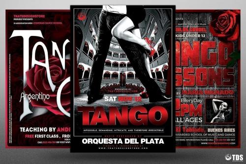 FLYERS PSD Tango Flyer Templates