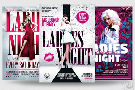 Ladies Night Flyer Bundle V3