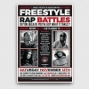 Freestyle Rap Battle Flyer V6
