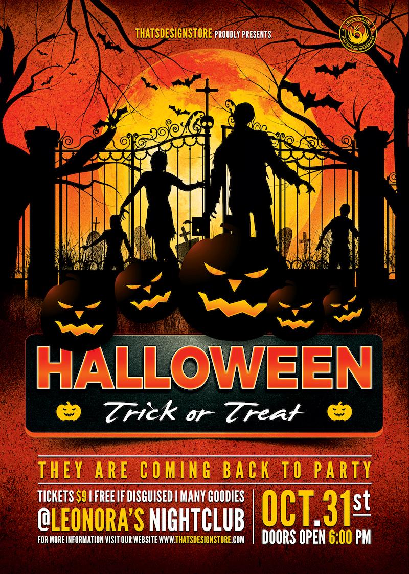 Halloween Flyer Template V19