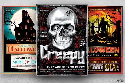 Halloween Flyer Bundle V7