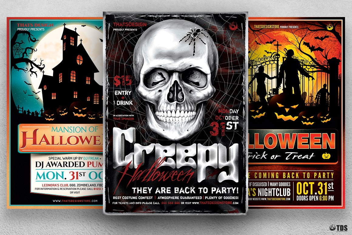 Halloween Flyer Bundle V7