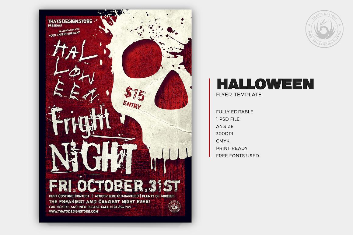 Halloween Flyer Template V22