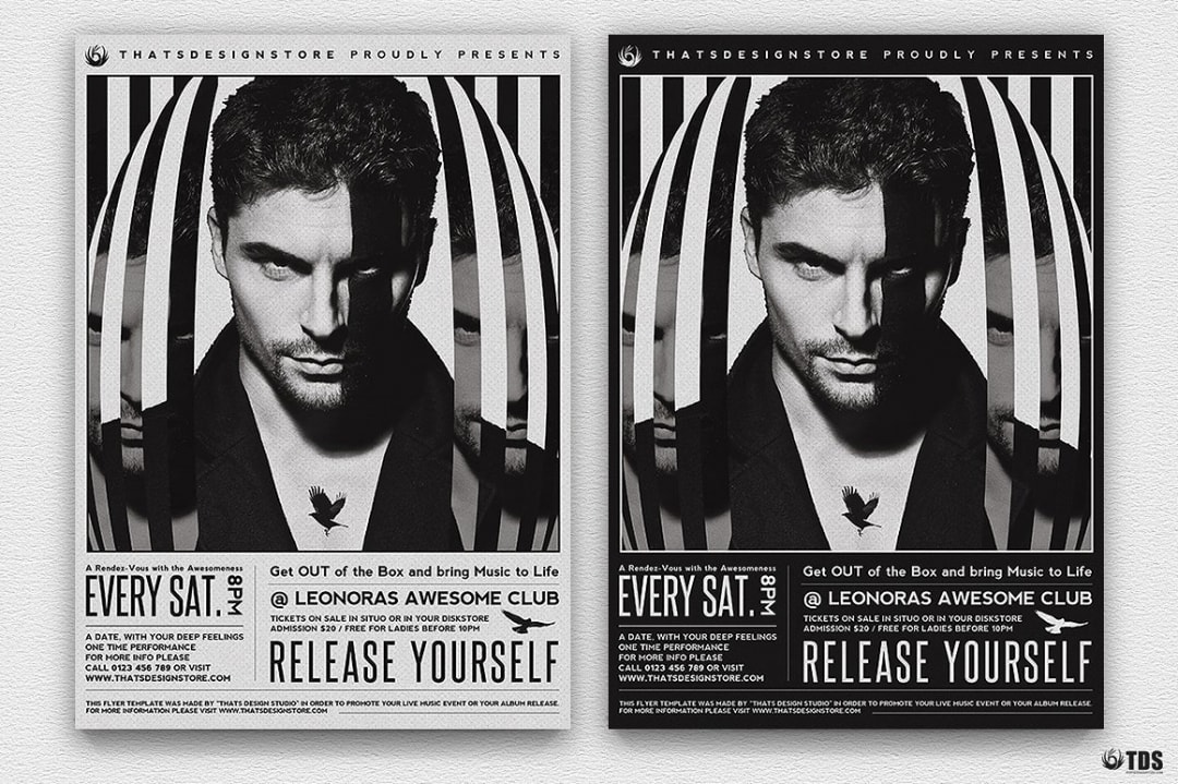 Release Yourself Flyer Template