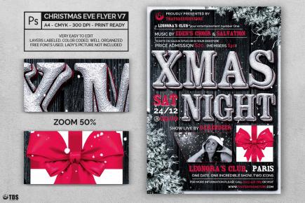Christmas Eve Flyer Template V7