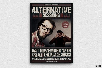 Alternative Sessions Flyer Template