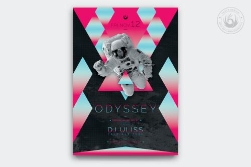 Odyssey Flyer Template