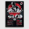 Freestyle Rap Battle Flyer V7