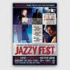 Jazzy Fest Flyer Template V1, Jazz psd flyers