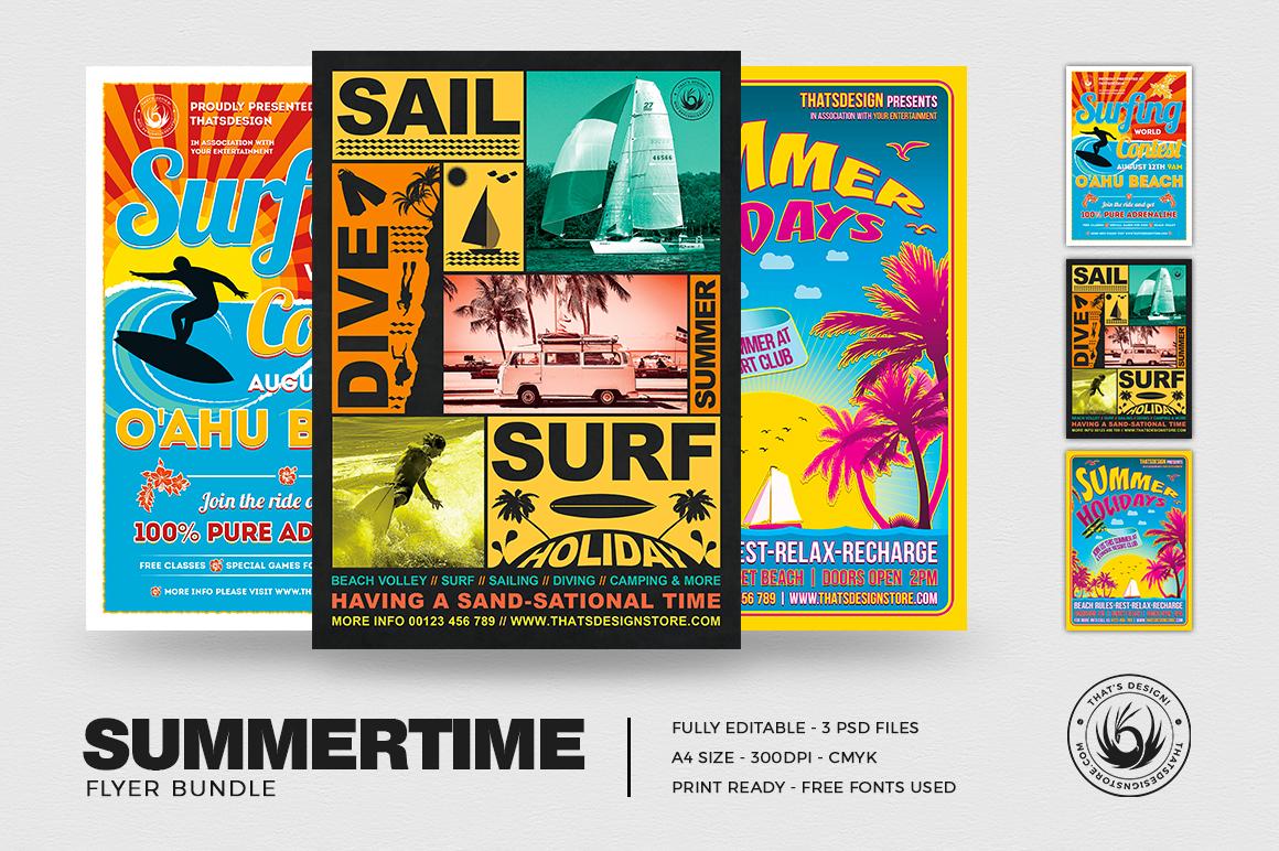 Summertime Flyer Bundle V1