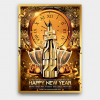 New Year Flyer Template PSD Download design V2