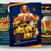 Oktoberfest Flyer Psd Templates for photoshop Bundle V4